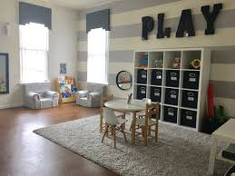 A boys playroom. I love setting up my three little boys space first. It