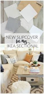New Slipcover For My Ikea Sectional Giveaway
