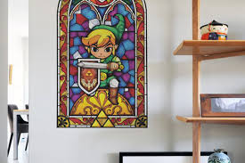 wall decals open a window to the legend of zelda the wind waker hd