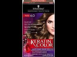 Schwarzkopf Keratin Hair Color Hair Coloring