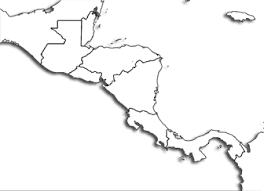 Central America Printable Maps