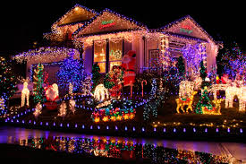 Amazing Christmas Lights On Houses Heres How Much Your Christmas Lights Really Raise Your