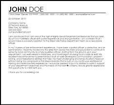 Law Enforcement Cover Letters Magdalene Project Org