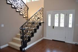 Iron Stairs Design Indoor Home Stairs Design Modern Iron Stair Railings Indoor Green