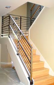 ... Modern Stair Banisters Wood Contemporary Stair Railing Ideas All  Contemporary Design Contemporary Stair Railing Ideas Banister ...