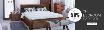 Shop For Bedroom Furniture Furniture Online Shopping Home Wooden Furniture 60 Off Housefull