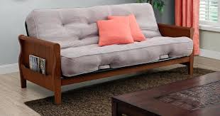 fulton homes cooley station better gardens wood arm futon w mattress only shipped