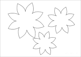 Paper Flower Template Free Free Flower Templates Gallery For Photographers With Free Flower