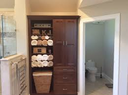 bathroom design nj. Bathroom Design With Custom Linen Cabinetry Nj