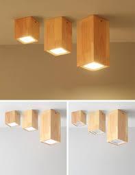 wood ceiling lamp mooielight