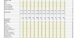 Sample P And L In Excel Pl Sheet Template Pl Sheet Template Pl Sheet Example Pl