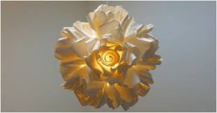 Paper Flower Lamp 17 Diy Paper Lampshades Guide Patterns