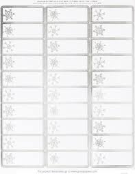 Great Papers Silver Snowflakes Foil Address Label 120ct