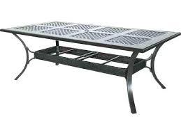outdoor furniture somerset cast aluminum x rectangular dining table in copperhead patio reviews sunvilla garden uk patio furniture
