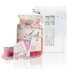 Kindnotes Glass Keepsake Gift Jar Inspirational Messages Him Her