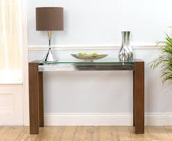 modern white console table. Modren Modern Glass Console Tables Fabulous Narrow Oak Table With  Image Of   Intended Modern White Console Table