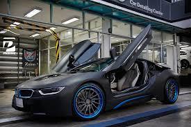 Sport Series how much is a bmw i8 : Thai BMW i8 Gets Custom Blue ADV.1 Wheels - GTspirit