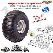 dixie chopper logo. 97200 - dixie chopper turf boss iii tire 25x12x9 original part! logo