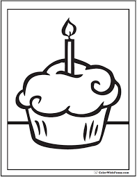 Small Picture Cupcake Coloring Pages For Kids And For Adults Coloring Home