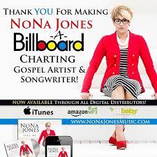 Gospelupdates Com Nona Jones Debuts On The Billboard Gospel
