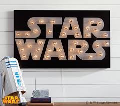 on star wars wall art stickers with star wars marquee wall art pottery barn kids