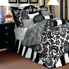 black and white damask comforter bedroom design with cool black and white damask comforters for bed in a bag comforter sets black and white damask twin