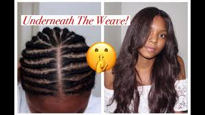 Middle Part Braid Pattern Amazing Braid Pattern Middle Part Closure Beginner YouTube