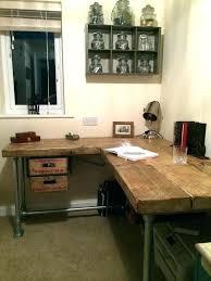 diy industrial desk wissitorg