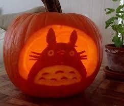 Totoro Pumpkin Designs Totoro Pumpkin This Year Since Were Studio Ghibli Fans