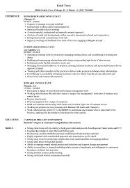 Reward Consultant Resume Samples | Velvet Jobs