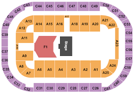 Seating Chart Ford Idaho Center Arena At Ford Idaho Center Seating Chart Nampa