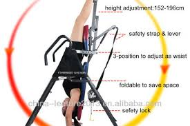 the 5 main benefits of inversion table