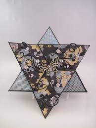 The Bugbytes Sassy Star Fold Card