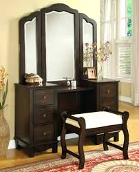 Awesome Espresso Bedroom Vanity Espresso Vanity Set With Bench Bedroom Vanity Sets  For Makeup Home Trends Magazine . Espresso Bedroom Vanity ...