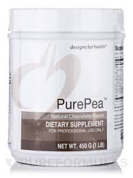 Designs For Health Pea Protein Unflavored Purepea Powder Natural Chocolate Flavor 1 Lb 450 Grams