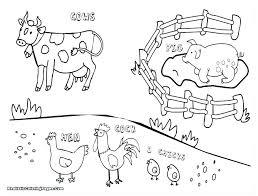 Farm Coloring Pages Preschool Farm Coloring Pages Preschool Farm