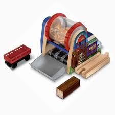 Fisher Price Wooden Railroad Maron Lights Sounds Signal Shed Thomas The Tank Engine Wooden Railway Wood Chipper