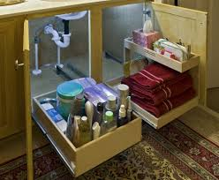 Under Kitchen Sink Storage Elegant Storage Under Bathroom Sink Cosy Small Bathroom Remodel