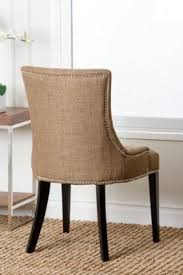 fabric dining chairs with nailheads. abbyson living hudson fabric nailhead trim dining chair, gold chairs with nailheads