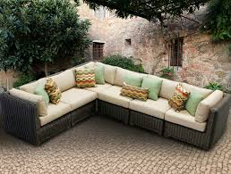 cute outdoor furniture sectional sofa