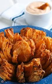 crispy air fryer blooming onion