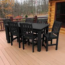 perfect kitchen accessories as regards outdoor dining chairs new lush poly patio dining table ideas od