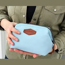 travel makeup cosmetic pouch clutch bag