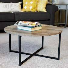 Acrylic coffee table cheap Cb2 Ashwood Round Coffee Table In Light Wood Llventuresco Acrylic Coffee Tables Accent Tables The Home Depot