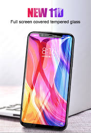11D полное покрытие клея закаленное стекло Xiaomi mi 9 8 SE ...