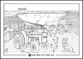 🚜 cute farm coloring pages to colour and learn about life on the farm! Farm Animal Colouring Pages Www Free For Kids Com