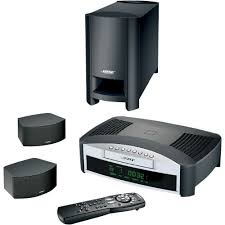 bose home theater subwoofer. bose 3-2-1 gs series ii home theater system - black demo subwoofer