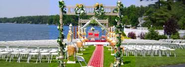 Indian Marriage Lawn Design Indian Wedding Stage Decoration Services Events Planners