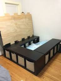 diy storage bed. Creative Ideas - How To Build A Platform Bed With Storage | Beds, And Bedrooms Diy