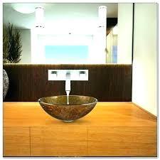 wall mount waterfall modern solid brass bathroom